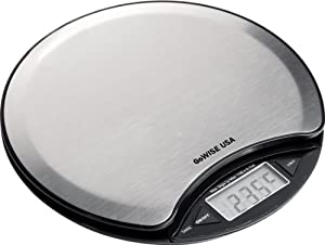 GoWISE USA Digital Kitchen Scale 11 Lbs Capacity Stainless Steel Food Scale GW22001 by GoWISE USA