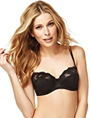 Fleur Lace Non-Padded Multiway B-D Bra