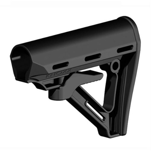 BLACKHAWK! Knoxx Replacement Adjustable Carbine Rifle Buttstock - Military Size Tube