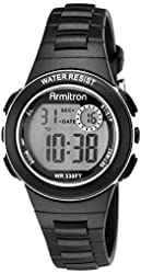 Armitron Sport Women's 45/7046 Digital Chronograph Resin Strap Watch