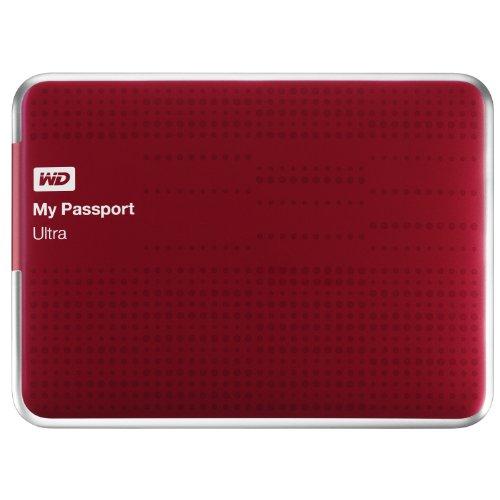 WD My Passport Ultra 1TB Portable External Hard