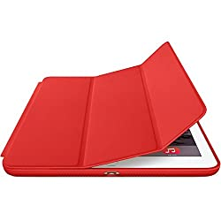 Kapa Leather Smart Case Flip Cover for Ipad Air 2 - Red