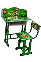 Olly Polly Ben 10 Kids Study Table desk computer chair Set