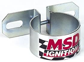 MSD 8213 Chrome Universal Coil Bracket