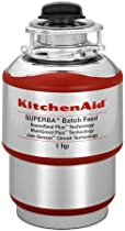Big Sale Best Cheap Deals Kitchen Aid KBDS100T 1 HP Cover Control Batch Feed Garbage Disposal