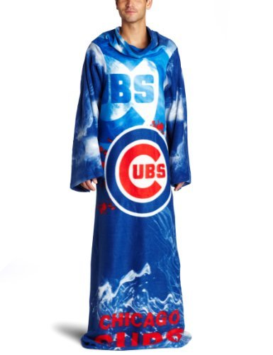 Chicago Cubs Snuggie Blanket CubsBlanket With Sleeves
