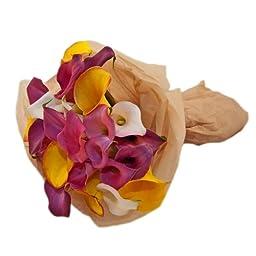 Mixed Colored Calla Lily Bouquet, Callafornia Callas