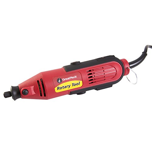 Great Neck 80134 Rotary Tool with 35 Piece Accessory Kit (Great Neck Drill compare prices)