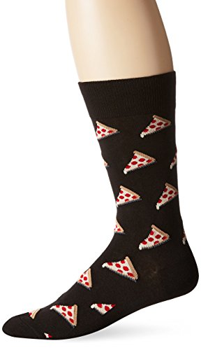 Hot Sox Men's Pizza Crew Sock, Black, One Size for this dutch oven pizza recipe which is one of our favorite dinner camping recipes
