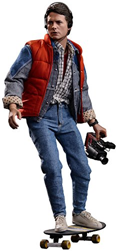 Hot Toys Action Doll 1:6 Scale MMS257 Back to the Future Ritorno al Futuro Marty McFly