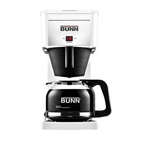 Bunn GRX Commercial Style Home Coffee Maker, White (Bunn Coffee Makers For Home White compare prices)