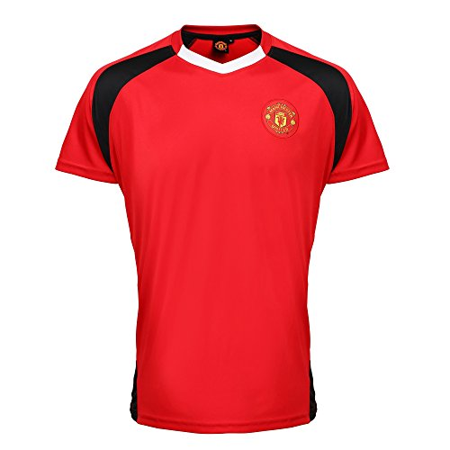 manchester-united-t-shirt-officiel-homme-m-rouge