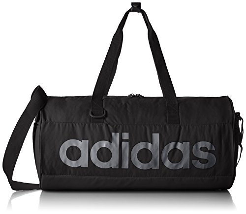 Adidas borsa per sport/allenamento Perforated Team Bag Small, Black/ngtmet, 50 x 25 x 25 cm, 31 litri, ai9117