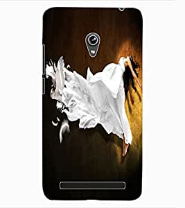 ColourCraft Printed Design Back Case Cover for ASUS ZENFONE 6 A600CG