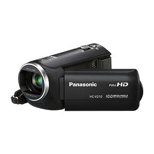 Beste Camcorder mit Full HD: Panasonic HC-V210EG-K