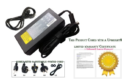 NEW 4-Pin 19V AC Adapter For Getac ADM-6019M Switching Power Supply Cord Charger
