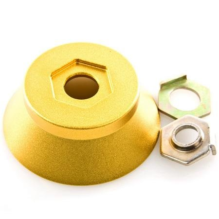 Snafu BMX Bike Hub - 14mm - Gold
