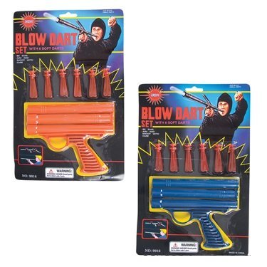 Ninja Blow Dart Gun Set (Package of Two Guns)