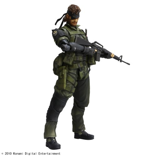 METAL GEAR SOLID PEACE WALKER PLAY ARTS改 Vol.3 SNAKE Jungle Fatigues Ver. スネーク 野戦服バージョン