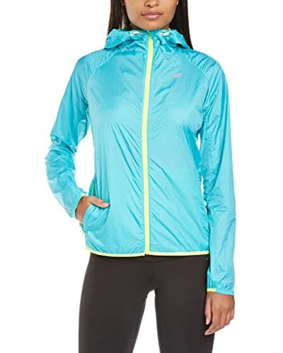 New Balance Shadow Run - Prenda, color turquesa, talla L