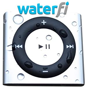 Waterfi Waterproof iPod Shuffle 4th Generation 2GB - Underwater MP3 Player for Swimming & Water Sports! Waterproof Headphones Sold Separately