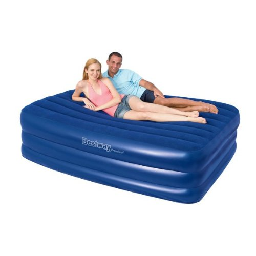 Queen Size Premium Air Bed Built In Pump
