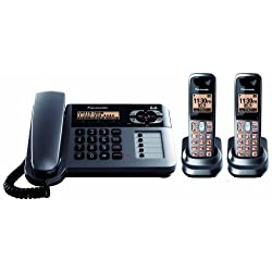 Panasonic DECT 6.0 Cordless/Corded Phone with Answering Machine