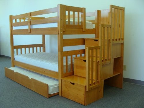 Stairway Bunk Bed with Drawers 500 x 375