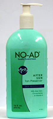 No-ad After Sun Tan Preserver Skin Moisturizer 16 Oz Pack Of 3 from NO-AD