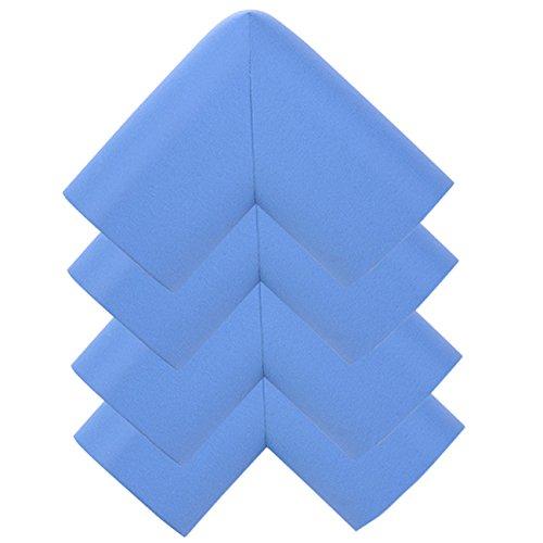 AikeSweet 4 Pezzi / Set addensare Bebé, Bambino, Sicurezza Angolo Protezione - Protezioni Tabella Cuscino - (blu)