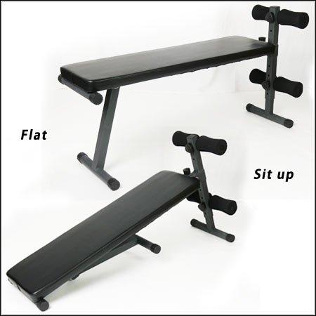マルチシットアップベンチ 腹筋 背筋 ダンベル運動 フラットベンチ ESFB-004