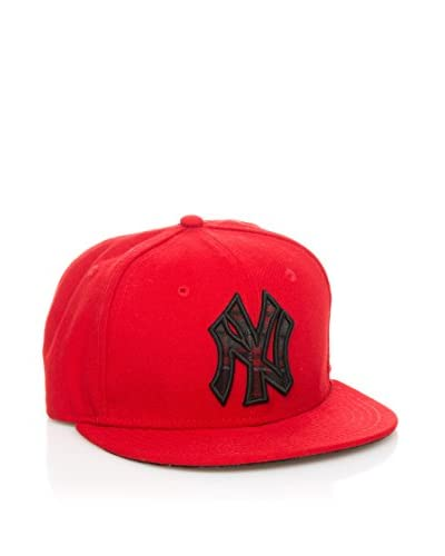 New Era Gorra Plaid Fill Neyyan Rojo / Negro
