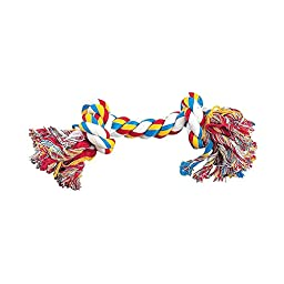 Zanies Rope Bone Dog Toys, 8.5\