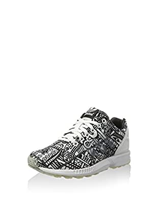 adidas Zapatillas ZX Flux (Blanco / Negro)