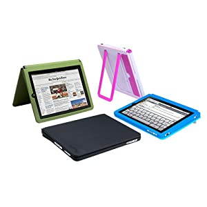 Quirky Cloak 1st Generation iPad Case and Stand -Black