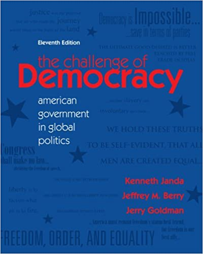 Democracy American Government American Government in