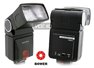 Bower SFD290 Digital Universal Automatic Flash for Canon, Minolta, Nikon, Olympus, Pentax, and Samsung