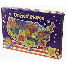 Cheap Milton Bradley U.S. Map Puzzle (B00000IWDT)