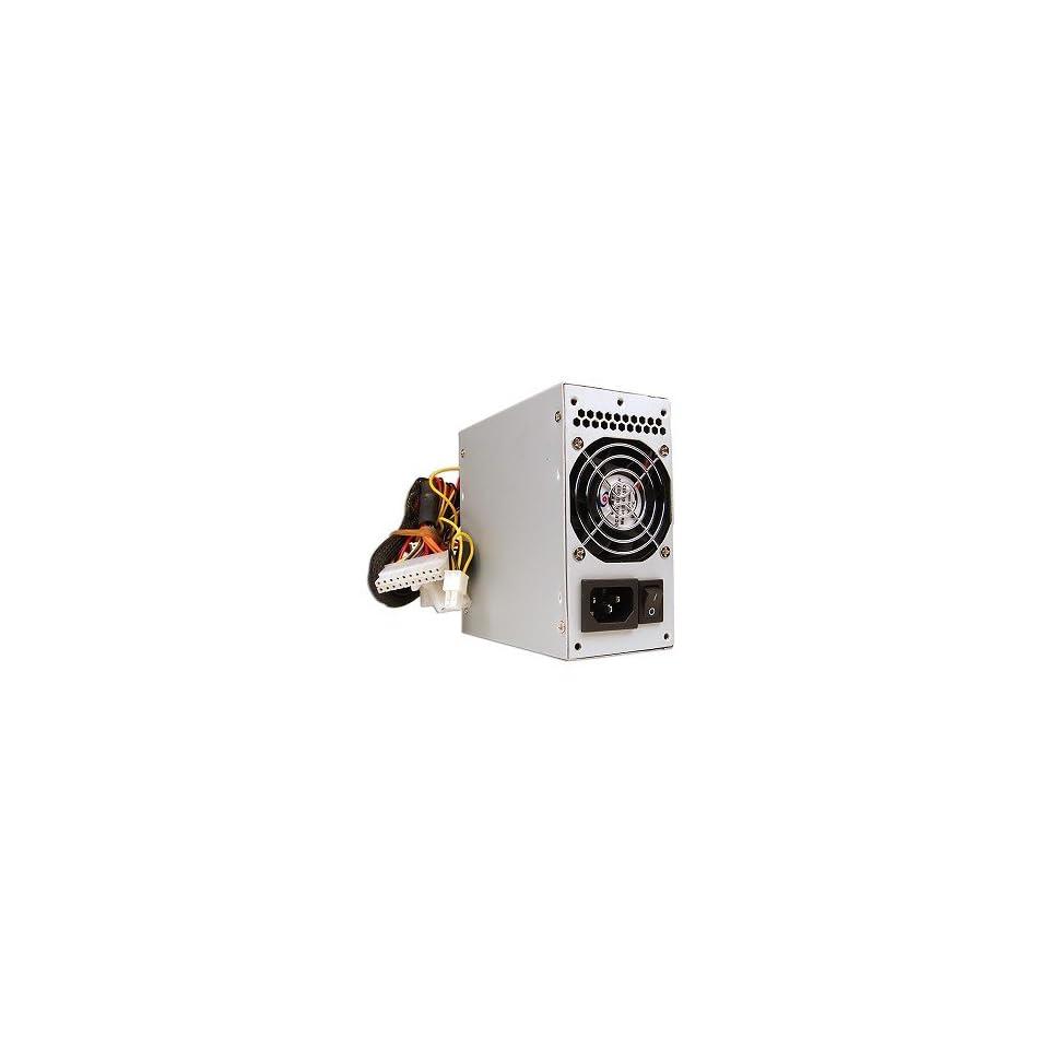 A Power 420W 20 pin Dual Fan mATX PSU w/SATA
