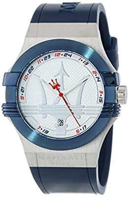 Maserati Men's R8851108003 Potenza Blue Dial Watch