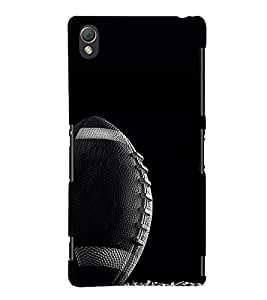 Rabbi Ball Design 3D Hard Polycarbonate Designer Back Case Cover for Sony Xperia Z3 :: Sony Xperia Z3 Dual :: Sony Xperia Z3 D6633
