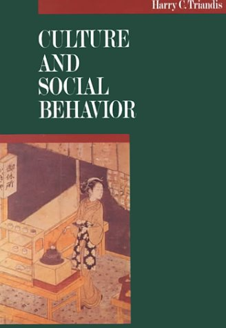 Culture and Social Behavior