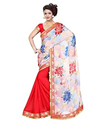 My online Shoppy Chiffon Saree (My online Shoppy_45_Multi-Coloured)