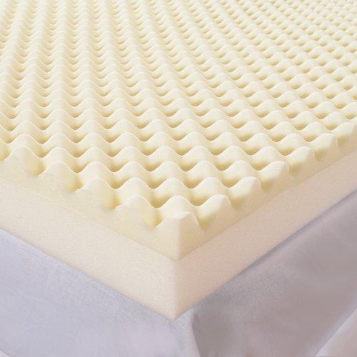 Sleep Comfort 5-Inch High Loft Mattress Makeover Memory Foam Topper, Full front-814188