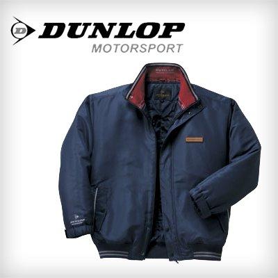 DUNLOP MORTOR SPORTS  ダンロップモータースポーツ 中綿入り多機能ブルゾン (Lサイズ, カラー:ネイビー)