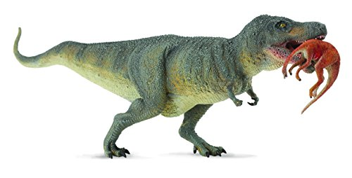 CollectA Tyrannosaurs Rex with Prey - Struthiomimus Toy