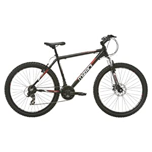 Mizani Summit FD Mens Mountain Bike (BLACK)