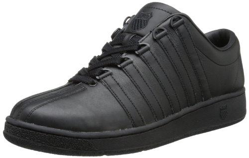 K-Swiss Men's Classic LX Lace-Up Sneaker,Black,6.5 M US