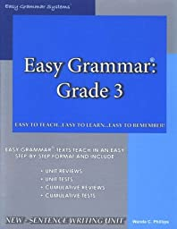 Easy Grammar 3 - Teacher Edition