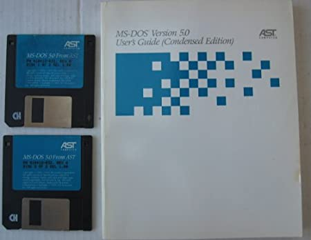 MS-DOS Version 5.0 - Two 3.5